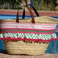 capazo Crochet Bags, Baskets, Decor Ideas, Beach, Scrappy Quilts, Hampers, Straw Hats, Sewing Studio, Sewing Projects