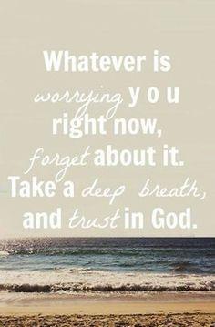 Trust in God