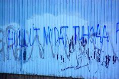 Toimin muraalinvartijana #streetart #katutaidetta #toiminmuraalinvartijana : #hullutnoidattuhoaapatriarkaatin katutaidetta: Hullut noidat tuhoaa patriarkaatin! Mural Wall Art, Rocky Horror, Patriarchy, Banksy, Helsinki, Urban Art, Graffiti, Neon Signs, Witches