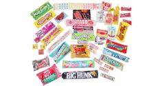 The era that brought us bell-bottoms and platform shoes also brought us some pretty awesome candy. A great birthday gift for anyone born in the 70's and a perfect way to reminisce at a High School reunion! This collection of hip candies from the 1970's will remind you of all those nights spent under the disco ball.  http://www.candydirect.com/70s-candy-box-1-box-assorted