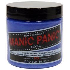 Manic Panic - Bad Boy Blue Hair Dye,4 Oz