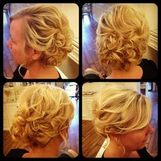 Romantic updo #updo #softcurls #hair