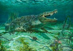 deinosuchus Tod Marshall