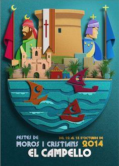 Carteles ganadores - Fiestas 2014 | Junta Festera de Moros y ...