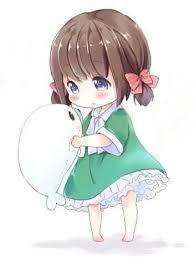 Kawaii chibi girl with cute stuffed seal . Loli Kawaii, Kawaii Chibi, Kawaii Art, Kawaii Anime Girl, Cute Manga Girl, Manga Anime, Cute Anime Chibi, Anime Art, Kawaii Drawings