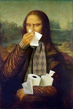 Essa gripe não me deixa....