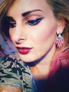 www.pastelovebarvy.cz Earrings, Jewelry, Fashion, Ear Rings, Moda, Stud Earrings, Jewlery, Jewerly, Fashion Styles