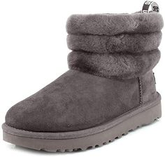 16 Styles of chic and affordable winter boots for women that are perfect for your winter outfits | UGG Women's Fluff Mini Quilted Boot Winter Fashion Boots, Winter Fashion Casual, Winter Boots, Winter Outfits, Stylish Shoes For Women, Womens Summer Shoes, Warm Boots, Snow Boots Women, Cute Boots