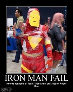Tony Stark didn't cope well with losing all his money. #Iron Man #Fail