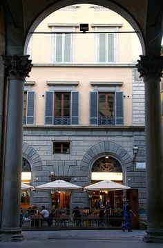 Florenz, Piazza di Mercato Nuovo, Ristorante Mamamia   por HEN-Magonza