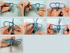 THE MASTERS OF SEOUL, KOREA / Jamjari (Dragonfly) Knot, 잠자리매듭 / Yeonbong (head) + 2 wing knot (wings) + 3~4 Dorae(body)