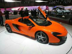 Mclaren 650S Spyder ( my new favorite sports car )