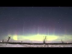Aurora Borealis in North Dakota, 29-30 Dec 2014