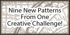 Nine New Patterns Coming Your Way!