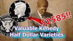 There are many Valuable Kennedy Half Dollar errors to look for that are worth money. On such coin can be found in the 1992 silver sets, I take a look at the . Rare Coins Worth Money, Valuable Coins, Show Me The Money, How To Make Money, O Happy Day, Dollar Bills, Kennedy Half Dollar, Coin Worth, Money Makers