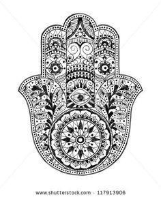 hola podrías poner un dibujo de la mano de fatima por favor?   ask.fm/MikTattoo