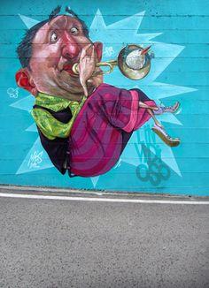Antonello Macs Piccinino - Graffiti artist, graphic designer e illustratore
