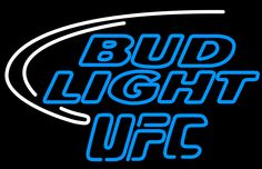 Bud Light Ultimate Fighting Championship Ufc Neon Beer Sign