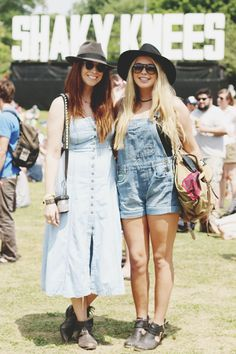 The Best Festival Fashion from Shaky Knees 2015 | Free People Blog #freepeople