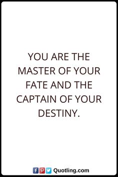 Destiny Quotes You are the master of your fate and the captain of your destiny. Destiny Quotes, Ex Quotes, Bra, Feelings, Math, Awesome, Bra Tops, Math Resources, Fate Quotes