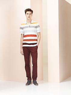 #Lacoste presents the Spring-Summer 2013 Collection for Unconventional Chic Men. #SS13