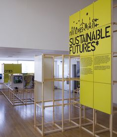 In Sustainable Futures, the other exhibition closing this week at the Design Museum, ideas for eco-friendly solutions in the realms of cities, energy and economics, food, materiality, and creative citizens are on display as prototypes, products, films, and more.