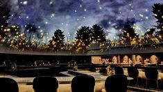 Planetarium-style ceiling arches over diners inside the Alchemist restaurant Bompas And Parr, Glass Wine Cellar, Design Apartment, New York Museums, Japanese Artists, Art Design, Interior Design, Mid Century Design, Restaurants