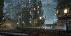 Creating a Moody Victorian City with Modular Pieces
