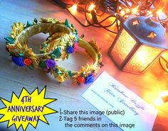 Hello..Rainbow Dazzle Gota Jewellery's 4th anniversary giveaway has been started.  Enter the giveaway to win pretty floral kangans.   https://m.facebook.com/Rdgotajewellery/photos/a.464206460279778.107633.461994940500930/1261488577218225/?type=3&source=48  Tag five friends in the comments and share the photo on your wall . Best of luck  :)