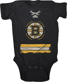 baby onesie too cute!!!        Old Time Hockey Boston Bruins Beeler Infant Creeper T-Shirt