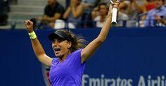 9/4/15 Via World Tennis News:   World No.149 Petra Cetkovska saves 4 MATCH POINTS! Shocks 2014 US Open Tennis Championships finalist Caroline Wozniacki 6-4, 5-7, 7-6(1)--> http://wtatenn.is/N8jh46