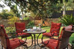 Quaint county garden feel at Claires of Sandton, Sandton, Gauteng.