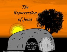 The Resurrection of Jesus with Review Task cards and Mini Book Printables
