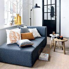 Interior Inspo: leren Leen Bakker kussen (via Bloglovin.com )