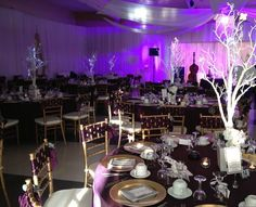 Purple Wedding Venue