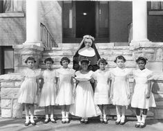 """A fine order of educators Oblate Sister of Providence Sr Hiltrudes Williams 1956 celebrates 50 years as a Nun dedicated to the education of black children, Mrs Bill Cosby was taught by these well educated African American Sisters based in Maryland."""