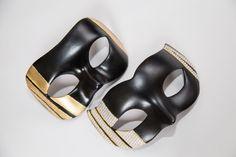 """Купить Карнавальные маски (пара) """"Глянец"""" в интернет магазине на Ярмарке Мастеров"""