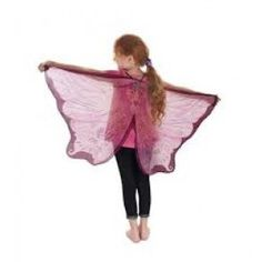Imaginations will take flight in these Pink Fairy Wings in gauzy chiffon sparkled with glitter. Encourage poise, imagination and self expression as kids lose themselves in the world of pretend. Ages 3 to 7 years. Dress Up Costumes, Fairy Costumes, Fairy Wings, Inexpensive Gift, Pink Fabric, Looks Great, Cool Style, Chiffon, Ballet Skirt