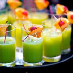 Luck O'The Tiki! Green Mai Tai's to celebrate St. Patrick's Day!! www.talesfromthetiki.wordpress.com