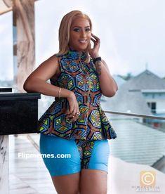 Ankara Short Gown Styles, Short African Dresses, Trendy Ankara Styles, Latest African Fashion Dresses, African Lace, African Tops, African Print Dress Designs, African Print Skirt, Ankara Designs