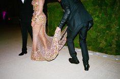 Beyoncé in a Givenchy dress