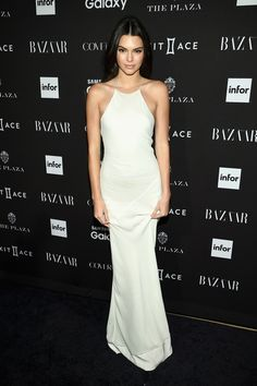 Face of Calvin Klein's fall 2015 Underwear campaign, Kendall Jenner, stepped out to attend Harper's Bazaar's ICONS event held in New York City at The Plaza Hotel. Kendall opted to wear a white silk bias cut dress from the resort 2016 line of Calvin Klein Collection, designed by Francisco Costa. Image: Dimitrios Kambouris/WireImage Enjoyed this …