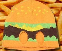Hamburger Mask . Become a real life hamburgular when you start performing breaking and enterings while wearing this hamburge...