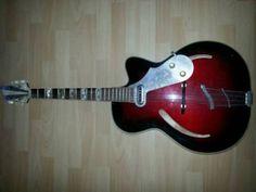 E Gitarre Jazz Gitarre sehr alt in Kr. Passau - Passau | Musikinstrumente und Zubehör gebraucht kaufen | eBay Kleinanzeigen