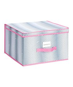 Take a look at this Palmilla Light Jumbo Storage Box by The MacBeth Collection on #zulily today!