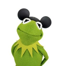 Kermit shows his ears