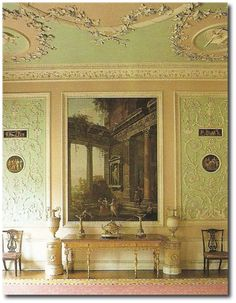 Osterley Park House- Neoclassical Style Seen At The Regency Furniture Blog Picture Credit Judith Millers Colors