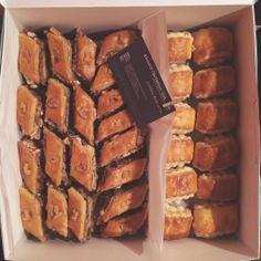 homestyle Armenian sweets | Pakhlava (walnut baklava) + Gata (vanilla-bean pastry)