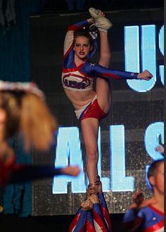 Cheer - Megan at USA North! Bow and Arrow