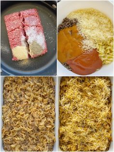 Ground Beef Country Casserole is packed with all your favorite comfort foods. Tomato, mushrooms, creamy sauce, ground beef, and tender egg noodles. It's an easy casserole that's made with inexpensive ingredient. Beef Casserole Recipes, Ground Beef Casserole, Casserole Dishes, Hamburger Casserole, Potato Casserole, Chicken Casserole, Healthy Beef Recipes, Baked Chicken Recipes, Meat Recipes